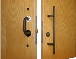 Sliding Door Accessible Toilet Lock - Bronze & sliding door accessible toilet lock \u003e metal finish Accessible Toilet ...